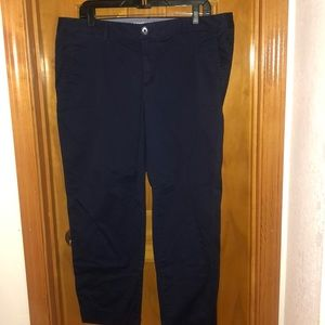Navy Pants with Pockets